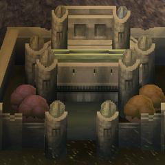 Render of the Dwarven Castle (iOS).