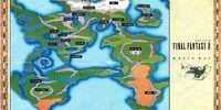 List of Final Fantasy II locations