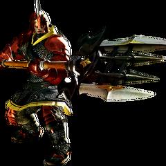 Lancer render for <i>Final Fantasy XIV: A Realm Reborn</i>.