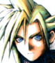 FFVII Cloud flashback Portrait