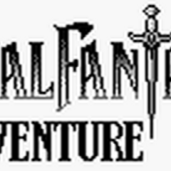 In-game logo of <i>Final Fantasy Adventure</i>.