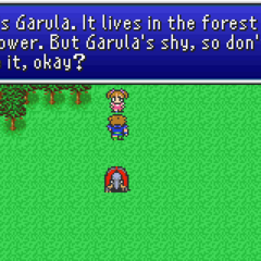 Garula in the field (GBA).