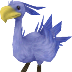 Sea chocobo from <i><a href=