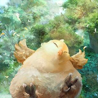 Fat Chocobo's card artwork.