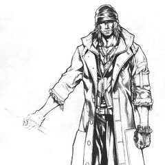 Concept sketch of Snow.
