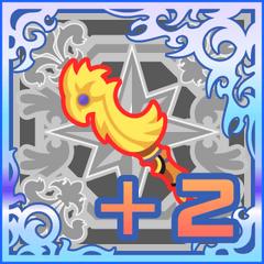 Chicken Knife +2 in <i>Final Fantasy Airborne Brigade</i> (SSR+).