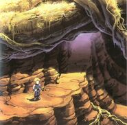 Mountain Path FF9 Art 5