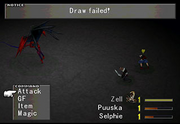 Draw failed