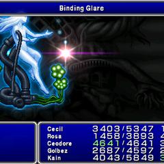 Binding Glare