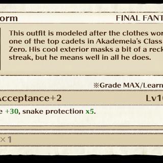 Ace's Uniform item