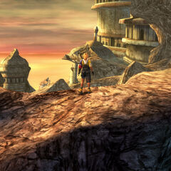 Path to Zanarkand in <i>Final Fantasy X</i>.