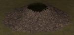 Agart volcano from underworld ios render