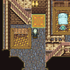 The interior of Owzer's Mansion (GBA).
