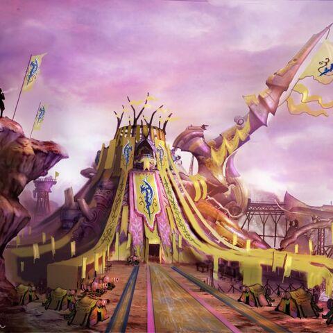 Youth League headquarters in <i>Final Fantasy X-2</i>.