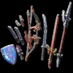 Bartz's Weapon Pack I.
