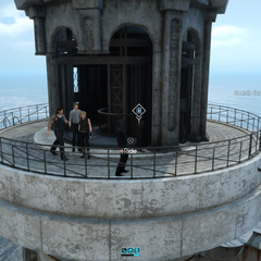 Top of the lighthouse.