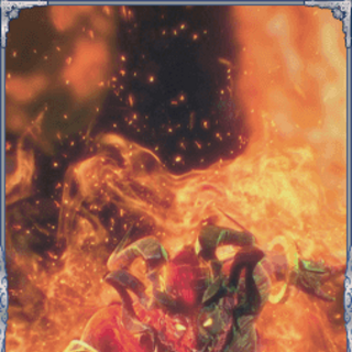 Ifrit in <i>Final Fantasy Brave Exvius</i>.