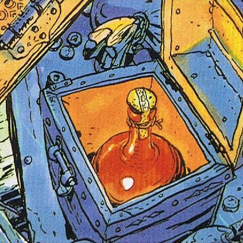 Artwork of a treasure chest (North America).