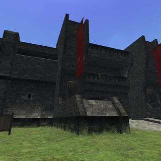 The gates to Southern San d'Oria.