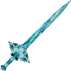 Crystal Excalibur used by <a href=