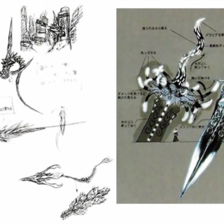 Concept art from <i>Final Fantasy X Ultimania Omega</i>.