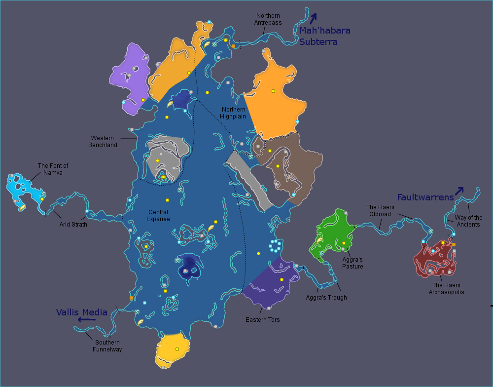 Image Archylte Steppe Map Png Final Fantasy Wiki