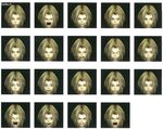 Zidane CG Faces FFIX Art