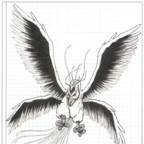 Concept artwork of the Rust Bird.