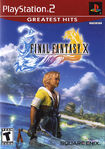 Ff x greatest hits ps2 cover front