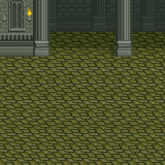 Battle background (Dimension Castle inside) (SNES).