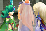 Rydia in the wedding ffiv ios