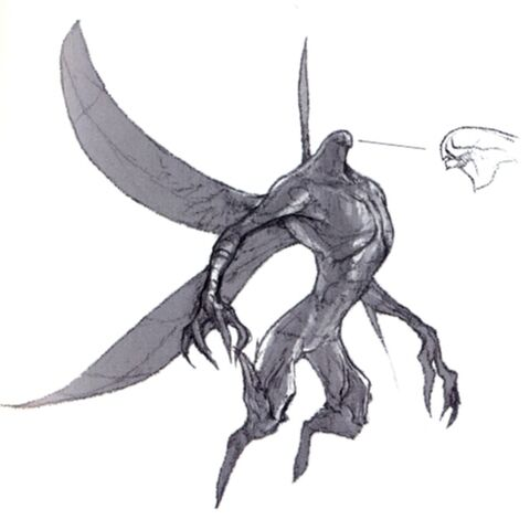 Concept art of an Aern.