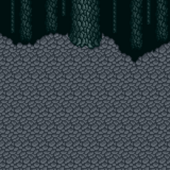 Battle background (Cave) (SNES).