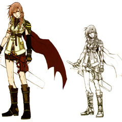 Concept art of Lightning.