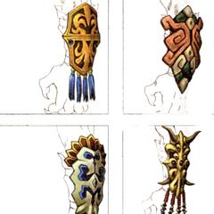 Kimahri's armlets.