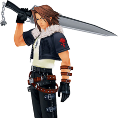Appearance in <i>Kingdom Hearts II</i>.