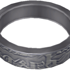 Game model of Ashe's wedding ring.