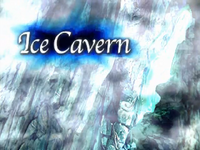 FFIX Ice Cavern Title
