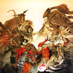 Promotional artwork from <i>Final Fantasy XII International Zodiac Job System</i> by Hideo Minaba.