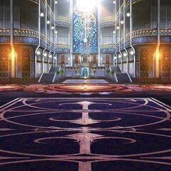 Akademeia battle background.