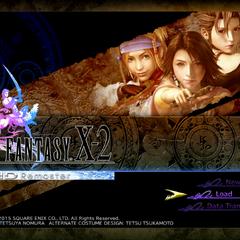 <i>Final Fantasy X-2 HD Remaster</i> (PS4).