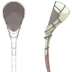 Concept Artwork for the Multina Racket.