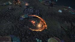 FFXIV Burning Strike