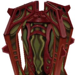Treasure pot (red).