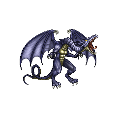 Bahamut sprite from <i>Final Fantasy IV</i> (PSP).