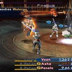 Battling Vayne Novus.