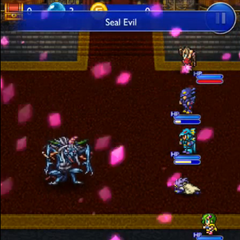 Aerith's version in <i>Final Fantasy Record Keeper</i>.