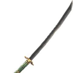 An unknown great katana model.