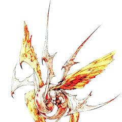 Zodiark artwork for <i>Final Fantasy Tactics</i>.
