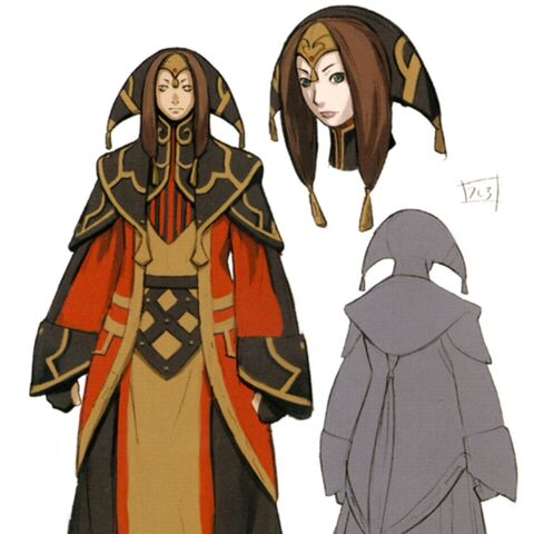 Concept art of Yve'noile.